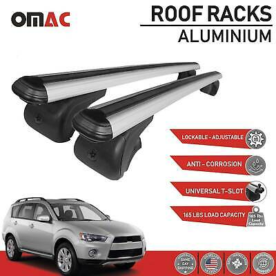 AU128.60 • Buy Roof Rack Cross Bars Luggage Carrier For Mitsubishi Outlander 2007-2012