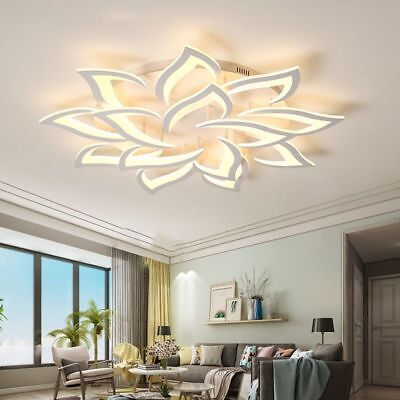 £574.31 • Buy Chandeliers For Living Room Bedroom Home Modern Wedge Led Ceiling Lamps Fixtures