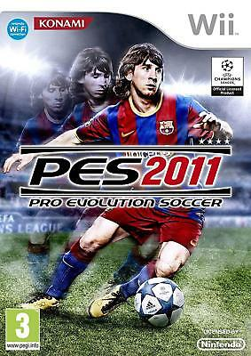 AU14.99 • Buy Pro Evolution Soccer 2011 (Wii) Nintendo Wii PAL VERY GOOD CONDITION WITH MANUAL