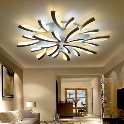£165.36 • Buy Acrylic Modern Led Ceiling Lights For Living Room Bedroom Dining Chandeliers New