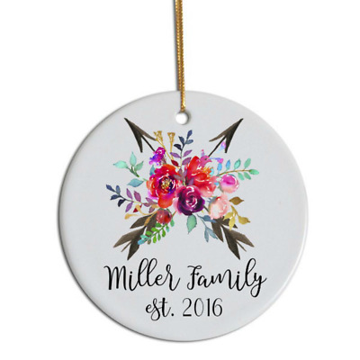 Sublimation Circle Christmas Decoration 3  Blank Ceramic Hanging / Baubles Tree • 8.24£