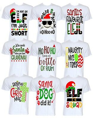 Funny Christmas T-shirts Novelty Joke Secret Santa Rude Gifts For Him Her Ideas • 12.95£