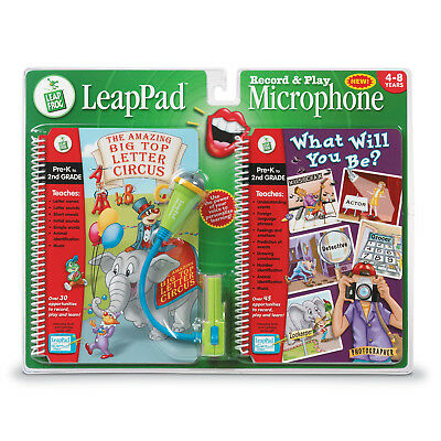 £17.97 • Buy Leap Frog LeapPad Record & Play Microphone With 2 Books BNIP