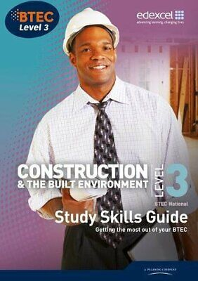 £5.99 • Buy BTEC Level 3 National Construction Study Guide By Topliss, Simon Book The Cheap