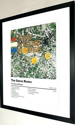 £33.99 • Buy The Stone Roses-Framed Album Artwork-Limited Edition-Ian Brown-Fools Gold