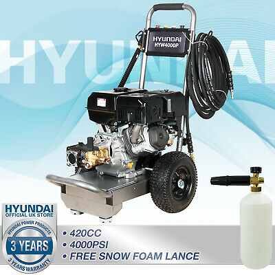 Pressure Washer Petrol 4000psi Jet Washer 15L/min 14hp  275bar Commercial Pump • 1,014.99£