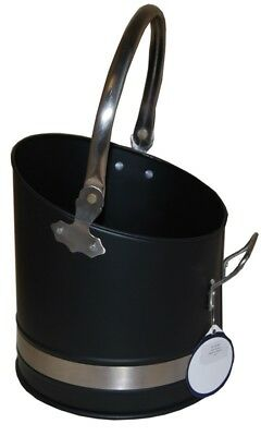 Coal Bucket Coal Hod Coal Scoop Coal Holder Fireside Accessories Coal Scuttle • 33.99£