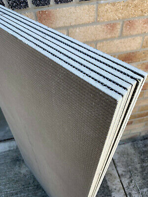 £11.88 • Buy Tile Backer Board Wedi Cement Coated Board For Construction Heating 6-10mm0.72m2