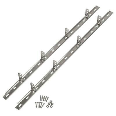 10 X Wall Starter Stainless Steel Kit 2.4M (With Ties & Fixings) FREE DELIVERY • 52.99£