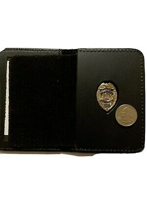 £14.52 • Buy Police Officer Mini Pin  SILVER  Thin Blue Line Wallet And ID  1 INCH