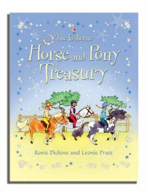 £12.99 • Buy Horse And Pony Treasury By Dickins, Rosie Hardback Book The Cheap Fast Free Post