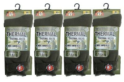 New Mens 2.3 Tog Thermal Outdoor Warm Work Military Marines Boot Socks Size 6-11 • 4.49£