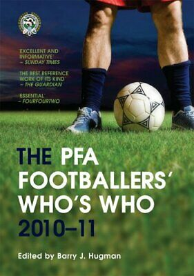 £8.99 • Buy The PFA Footballers' Who's Who 2010-11 By Hugman, Barry J. Paperback Book The