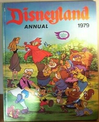 Disneyland Annual 1979 Book The Cheap Fast Free Post • 13.99£