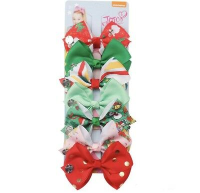 AU9.95 • Buy 7 X 4.5 Inch Signature Jojo Siwa Christmas Bows