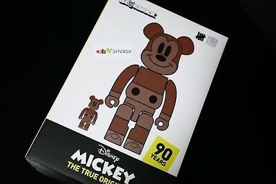 $995 • Buy Disney Medicom Undefeated Bearbrick Mickey 400% 100% True Original Exhibit NYC