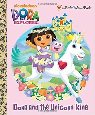 £3.99 • Buy Dora And The Unicorn King (Little Golden Books) By Reisner, Molly Book The Cheap