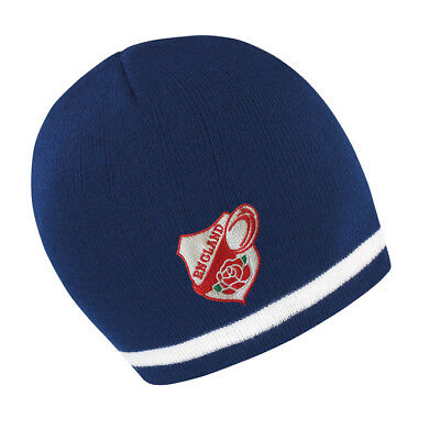 £11.99 • Buy Mens/womens England Navy/white Beanie Hat Ideal Gift