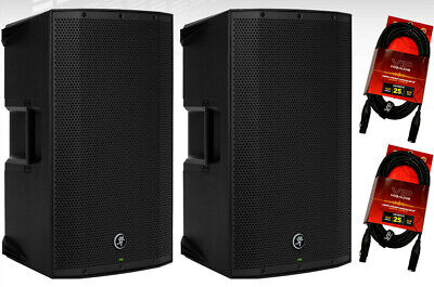 $799.98 • Buy 2x Mackie Thump12BST Boosted 1300W 12  Powered Live Sound PA/DJ Speaker + Cables