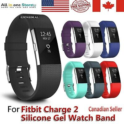 $ CDN5.99 • Buy For Fitbit Charge 2 Replacement Sports Band Strap Silicone Wrist Watch Bands CA