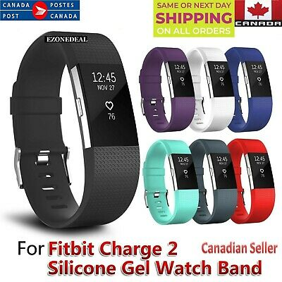 $ CDN6.99 • Buy For Fitbit Charge 2 Replacement Sports Band Strap Silicone Wrist Watch Bands CA