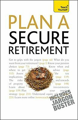 £7.99 • Buy Plan A Secure Retirement: Teach Yourself By Goodbun, Trevor Paperback Book The