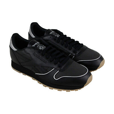 Reebok Classic Leather Rm Mens Black Leather Athletic Training Shoes •  28.99  9c96bc813
