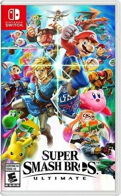 $55.21 • Buy Super Smash Bros. Ultimate For Nintendo Switch [New Video Game]