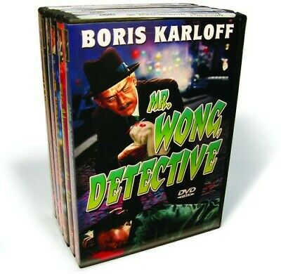 $17.91 • Buy Boris Karloff - Mr Wong Detective: The Complete Collection [New DVD] B