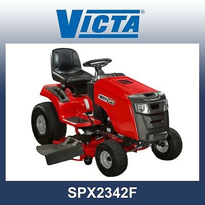 AU4999 • Buy Victa SPX 2342F Ride On Mower, 23HP Briggs V-twin, 42  Fab Deck - SAVE $500!!