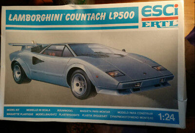 Lamborghini Countach Model Kit Compare Prices On Dealsan Com