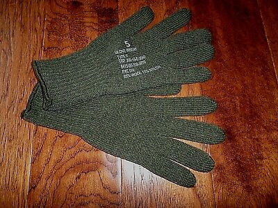 $9.99 • Buy U.s Military Style D3a Cold Weather Glove Liners 85% Wool 15% Nylon Size Large
