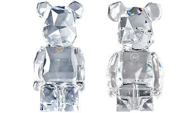 $2999 • Buy MEDICOM BE@RBRICK Baccarat Fragmentdesign Polygon Crystal Glass Fragment Design