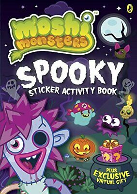 Moshi Monsters: Spooky Sticker Activity Book Book The Cheap Fast Free Post • 8.49£
