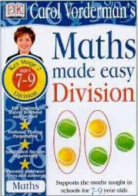 Maths Made Easy Topic Book: Division KS2 Lower:... By Vorderman, Carol Paperback • 8.49£