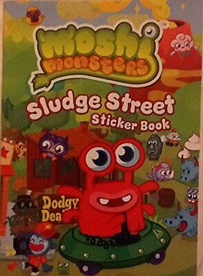 Moshi Monsters Sludge Street. Sticker Book By Mind Candy • 2.61£
