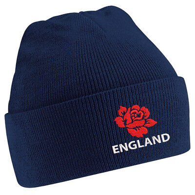 £11.99 • Buy Mens/ Womens England Beanie Hat - Navy, Ideal Gift