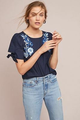 $ CDN78.85 • Buy $128 Anthropologie  Molly Embroidered Top New Size  XL
