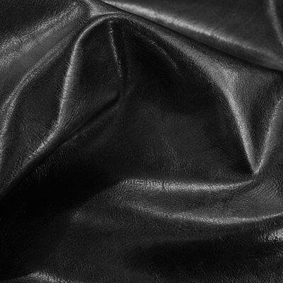£1.99 • Buy Faux Leather Look Fabric Soft Upholstery Material PVC Leatherette Cloth Vinyl