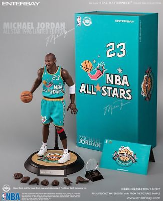 $599 • Buy Enterbay Real Masterpiece Michael Jordan 1/6 All-Star Game 1996 Limited Edition
