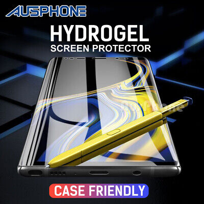 AU2.95 • Buy HYDROGEL Screen Protector For Samsung Galaxy S10 5G S9 S8 Plus Note 10 9 S7 Edge