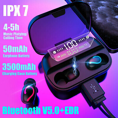 $18.97 • Buy True Wireless Sport Headphones Bluetooth Earphones Twins Ear Hook Bass Headset