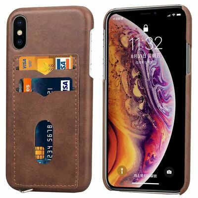 AU8.45 • Buy For IPhone 11 Pro Max XR XS 8 7 6 SE Case Leather Wallet Card Holder Hard Cover