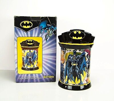 Warner Bros.Collectible 12  Tall BATMAN Cookie Jar Container Limited Edition NEW • 61.51£
