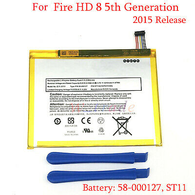$9.50 • Buy Original New Battery 58-000127 For Amazon Kindle Fire HD 8 5th Generation SG98EG