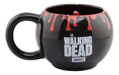 £14.95 • Buy Official The Walking Dead 3d Round Hand Coffee Mug Cup New And Gift Boxed