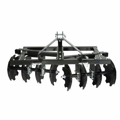 $549.99 • Buy Impact Implements CAT-0 Category 0 Disc Plow / Harrow For Compact Tractors