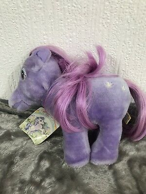 My Little Pony Vintage Softie Plush Blossom With Tag  • 100£