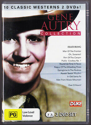 Gene Autry Collection - 10 Westerns (DVD, 2012, 2-Disc Set) • 8.16£
