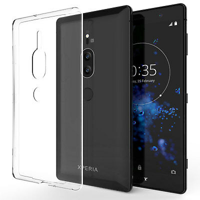 AU3.59 • Buy Ultra Thin Silicone Case For The Sony Xperia XZ2 Premium TPU Gel Phone Cover UK